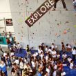 All the people is not moving - Los espectadores del Campeonato de Escalada en Bloque y Dificultad Vértigo